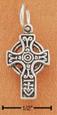 diminutive celtic cross pendant