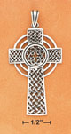 woven celtic cross