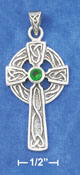 gemstone celtic cross