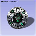 Celtic Plaid Brooches made in Scotland