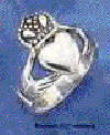 sterling silver claddagh rings