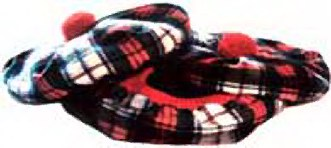 Brushed Wool Tartan Tam
