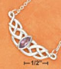 amethyst celtic knot jewelry