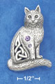 celtic cat pin