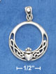 contempory sterling silver claddagh