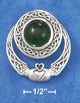 gemstone claddagh