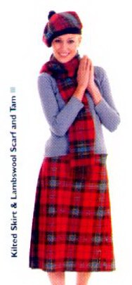 Ladie's Kilted Skirt
