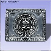 Scottish Clan Crest Belt Buckles
