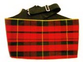 Silk Scottish Tartan Cumberbund