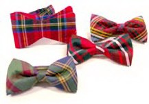 Silk Scotiish Tartan Bowties
