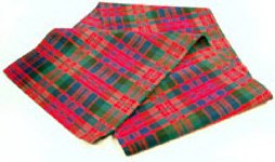 Silk Scottish Tartan Scarf