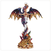 Dragon with Sword Figurine