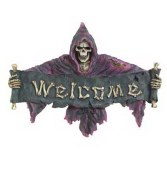 Griim Reaper Wall Plaque