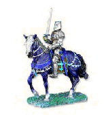English Medieval Knight Figurine