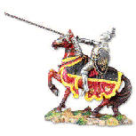 Yorkish Knight Figurine