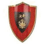 El Cid Shield in Spanish Medieval styling
