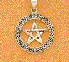 sterling silver pentacle
